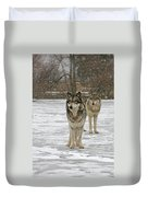 Snow Mates Duvet Cover