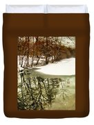 Snow Pond Duvet Cover