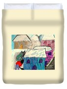 Snow Shovel Duvet Cover