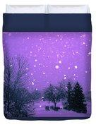 Snow Song Duvet Cover