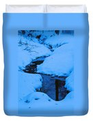 Snow Stream Duvet Cover