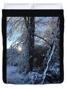 Snow Sunrise 2 Duvet Cover