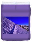 Snow Trail  Duvet Cover