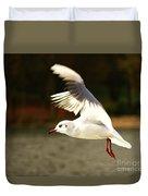 Snow White Seagull Duvet Cover