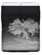 Snow White Tree Duvet Cover