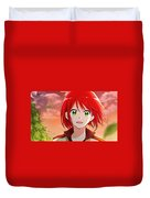 Snow White With The Red Hair Duvet Cover