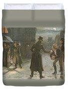 Snowballing The Watchmen Duvet Cover