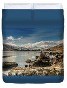 Snowdon From Llynnau Mymbyr Duvet Cover