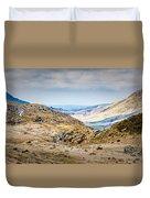 Snowdonia Landscape Duvet Cover