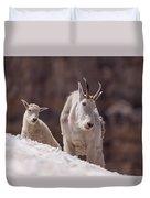 Snowfield Duvet Cover