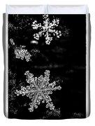 Snowflake Jewels Duvet Cover