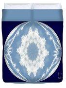 Snowflake Orb Duvet Cover