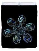 Snowflake Photo - High Voltage IIi Duvet Cover