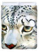 Snowleopard Duvet Cover