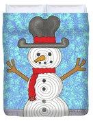 Snowman 2015 Duvet Cover