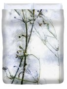 Snowstalks Duvet Cover