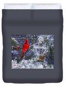 Snowstrom Duvet Cover