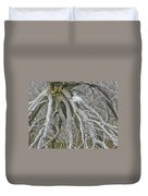 Snowy Egret - Egretta Thula - On Marsh Tangle Duvet Cover