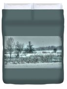 Snowy Field Duvet Cover