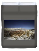 Snowy Grand Canyon Duvet Cover
