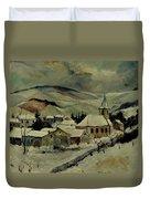 Snowy Landscape 780121 Duvet Cover