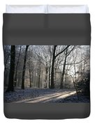Mystical Winter Landscape Duvet Cover