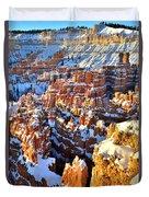 Snowy Overlook Duvet Cover