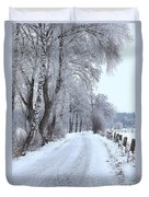 Snowy Path Duvet Cover