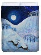 Snowy Peace Duvet Cover