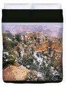 Snowy Pillar 2 - Grand Canyon Duvet Cover