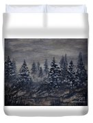 Snowy Pines Duvet Cover