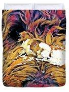 Snowy Pup Duvet Cover