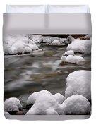 Snowy Stickney Brook Duvet Cover