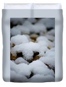 Snowy Stones Duvet Cover