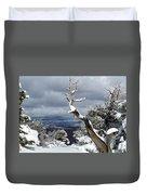 Snowy View Duvet Cover