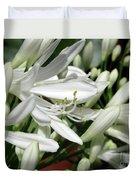 Snowy White Beauty. 7 Duvet Cover