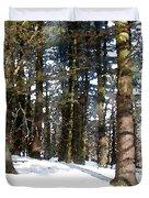 Snowy Wilderness Duvet Cover