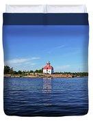 Snug Harbour Lighthouse Duvet Cover