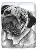 Snuggly Puggly Duvet Cover
