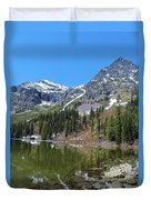 Snyder Lake Duvet Cover