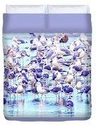 So Many Birds Duvet Cover