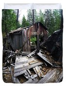 Soap Creek Debris, Real Estate Series Duvet Cover