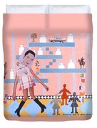 Soap Scene #16 Miracle Maids Duvet Cover
