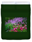 Soapwort And Pinks Duvet Cover