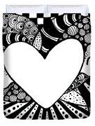 Soaring Heart  Duvet Cover