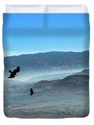 Soaring Ravens Duvet Cover