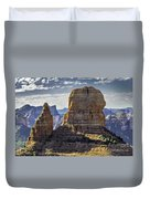 Soaring Red Rock Monoliths Duvet Cover