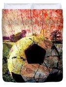 Soccer Art Duvet Cover