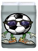 Soccer Cool Duvet Cover