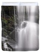 Soco Falls North Carolina Duvet Cover